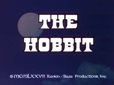 The Hobbit Title Card
