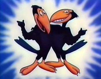 'Heckle and Jeckle' Series Title Card