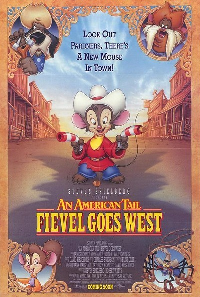 an american tail  fievel goes west  1991  feature length theatrical animated film