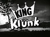 King Klunk ReRelease Title Card