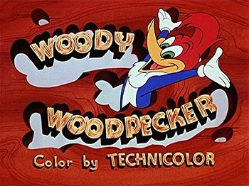 Woody Woodpecker Series Title Card