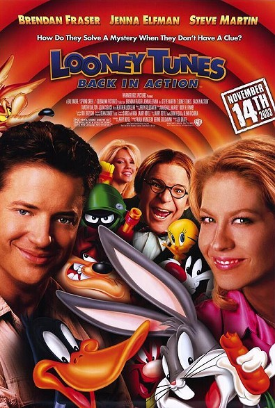 Looney Tunes: Back In Action Original Release Poster