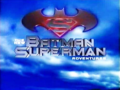 The New Superman Adventures Television Series Title Card