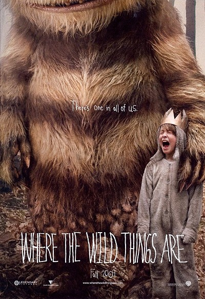 Where The Wild Things Are Pre-Release Poster